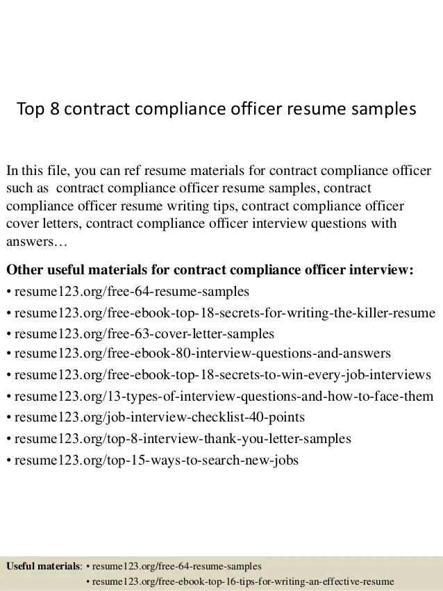 compliance resume examples - Goalgoodwinmetals