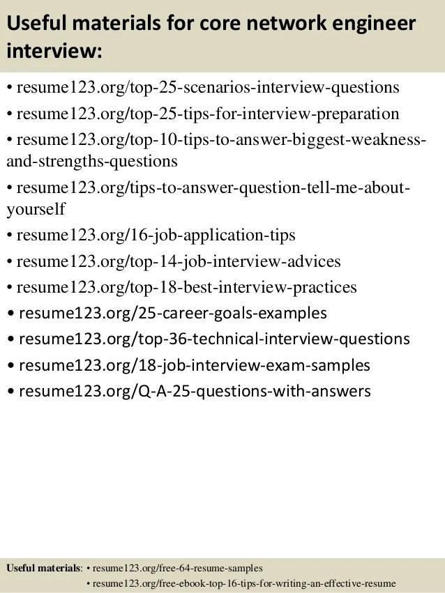 Junior Network Engineer Sample Resume cvfreepro
