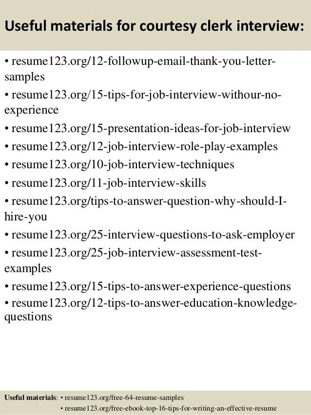 courtesy clerk resume 100 courtesy clerk resume records