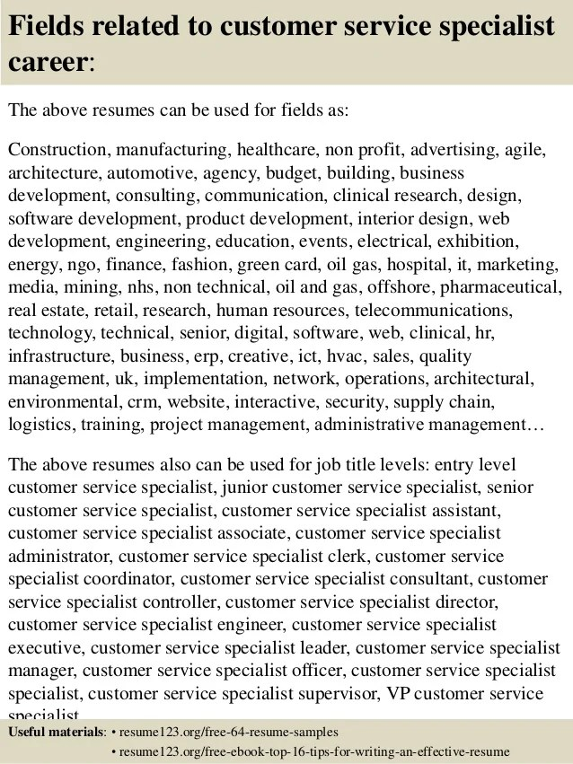business operations specialist resume sample