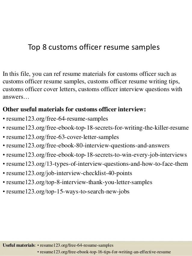 cbp officer resume - Ozilalmanoof