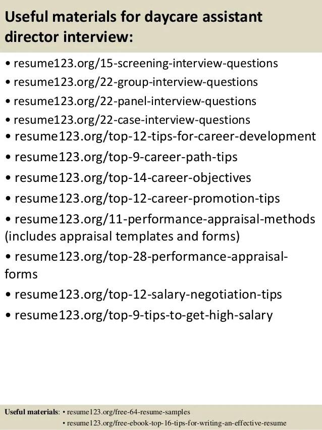 daycare director resumes - Alannoscrapleftbehind - daycare assistant sample resume