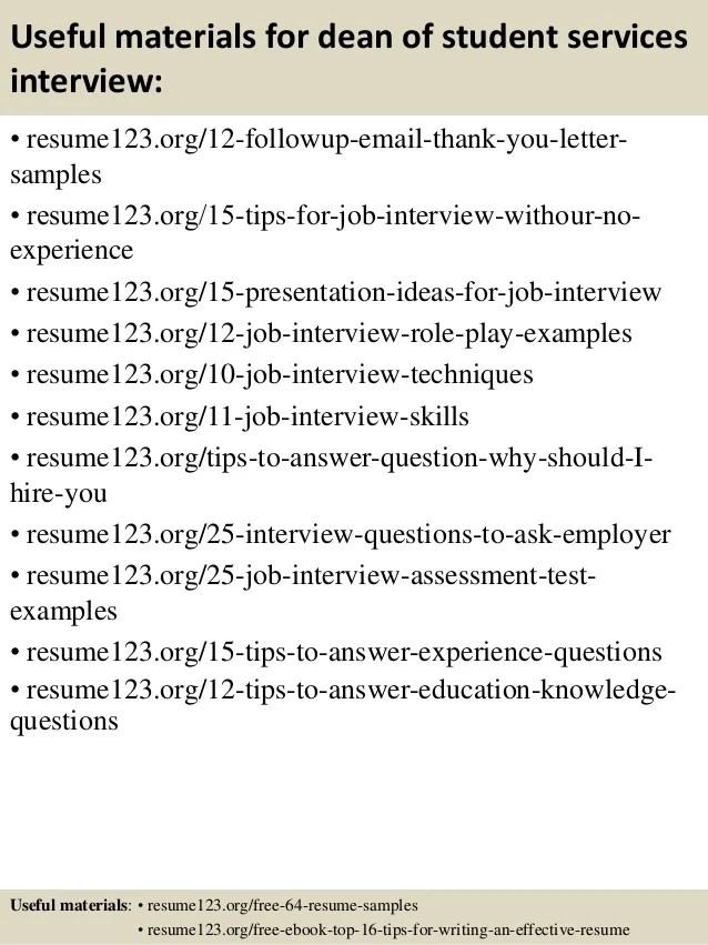 top 8 student services coordinator resume samples