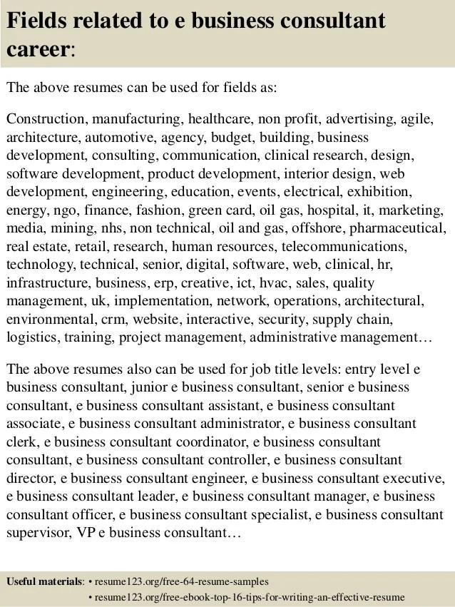 business consulting resume - Kordurmoorddiner