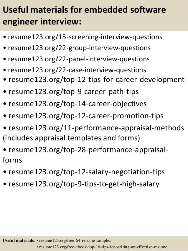 experience software resume samples