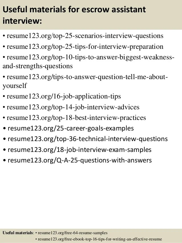 it assistant resume example veterinary assistant resume veterinary - escrow officer resume