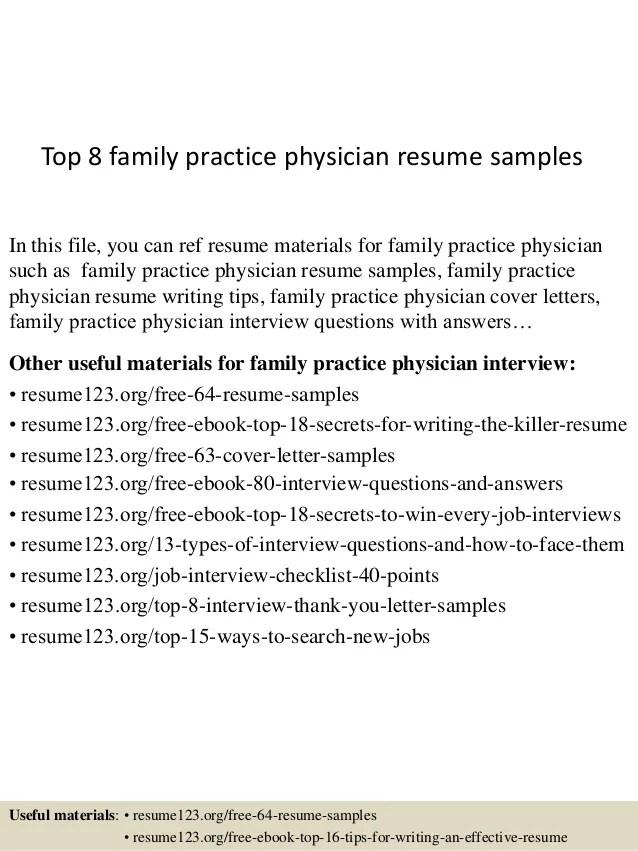 physician resumes - Koranayodhya