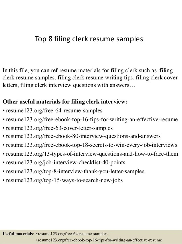 file clerk sample resumes - Akbagreenw - office automation clerk sample resume