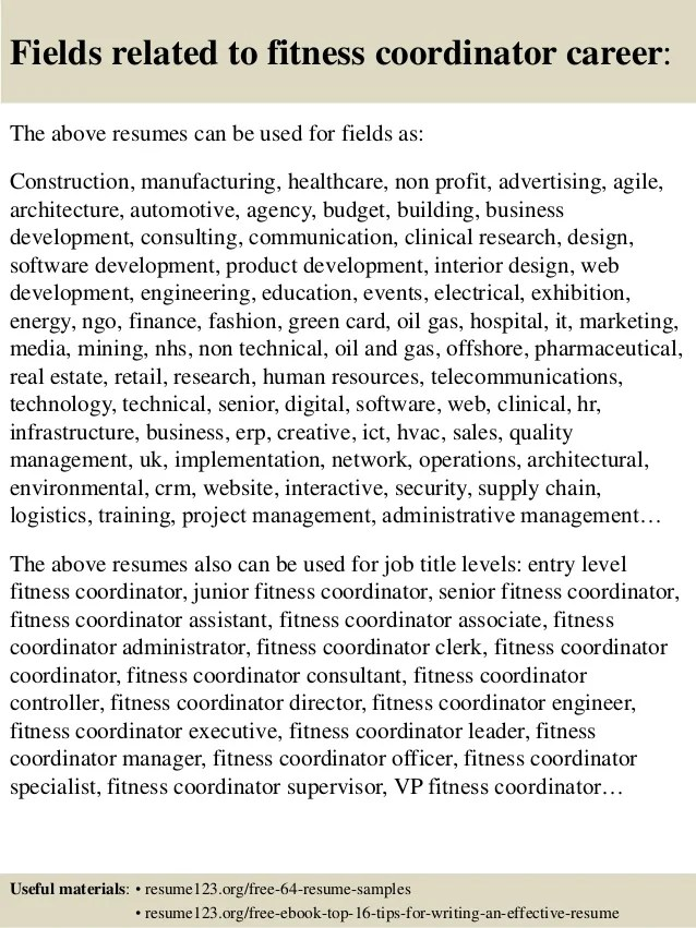 Health Fitness Specialist Sample Resume kicksneakers