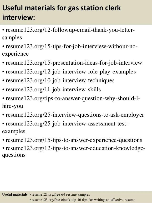 gas station clerk resume - Josemulinohouse - cafe attendant sample resume