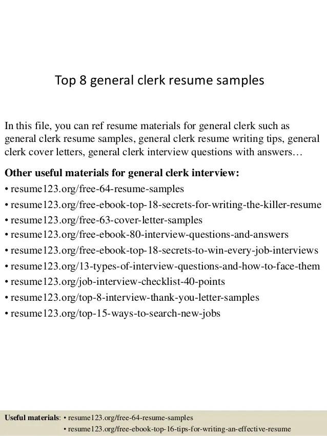 general clerk cover letter samples - Jolivibramusic - abstract clerk sample resume