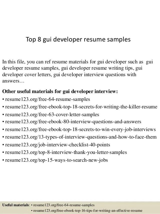 software developer resume example - Josemulinohouse