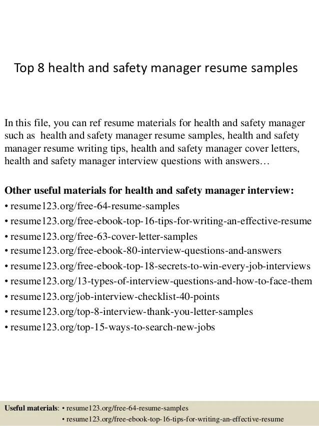 safety manager resume - Ozilalmanoof - fire safety manager sample resume