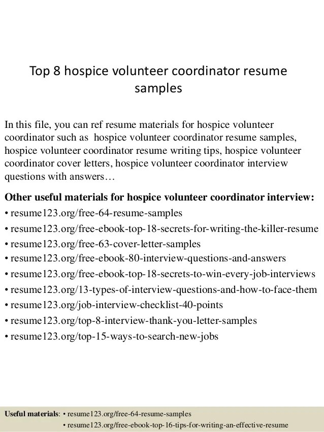 volunteer resume objective