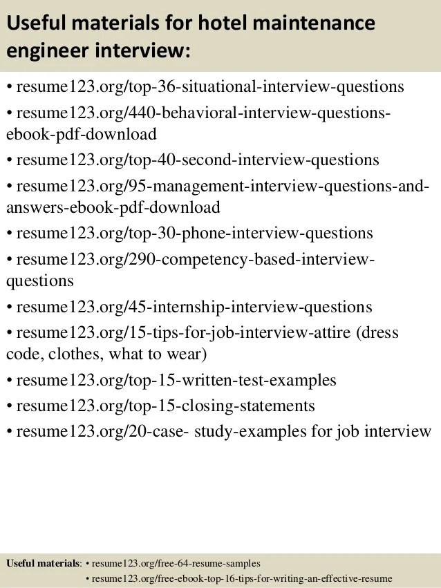 resume for maintenance job - Goalgoodwinmetals
