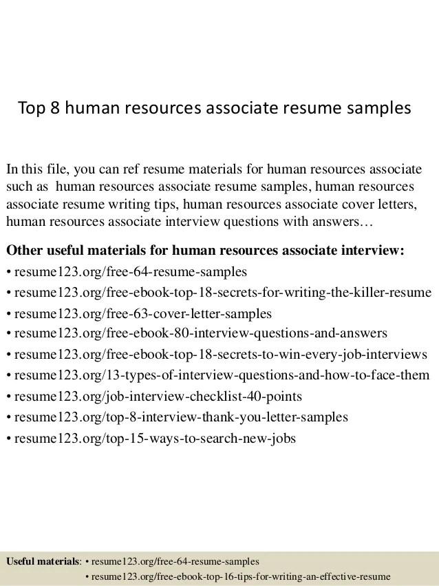 human resources resume format - Minimfagency