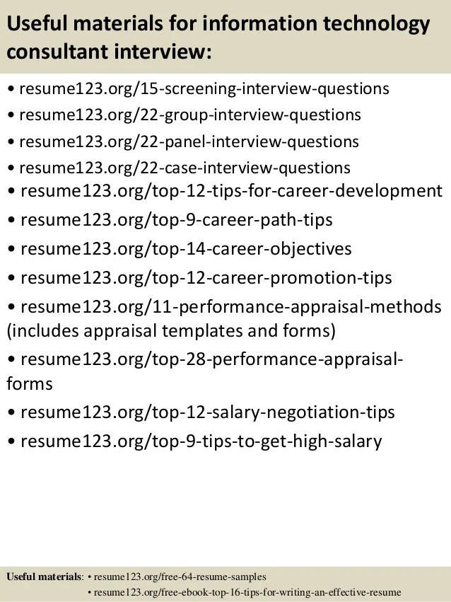 information technology resume objectives examples - Alan