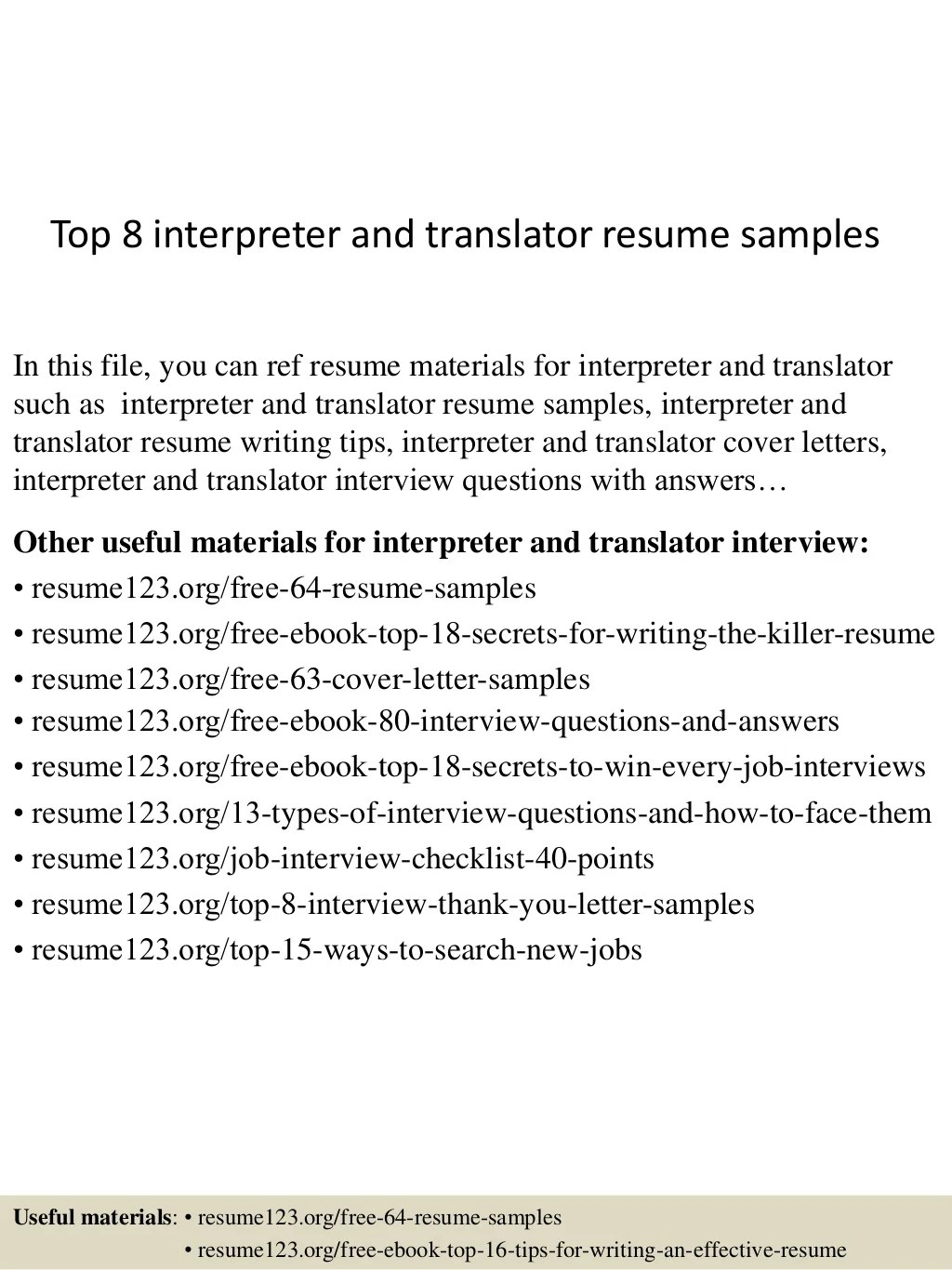 how to write a resume objective as a spanish interpreter how to write a resume objective as a spanish interpreter medical interpreter resume sample top interpreter