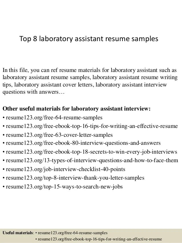laboratory data entry resume examples