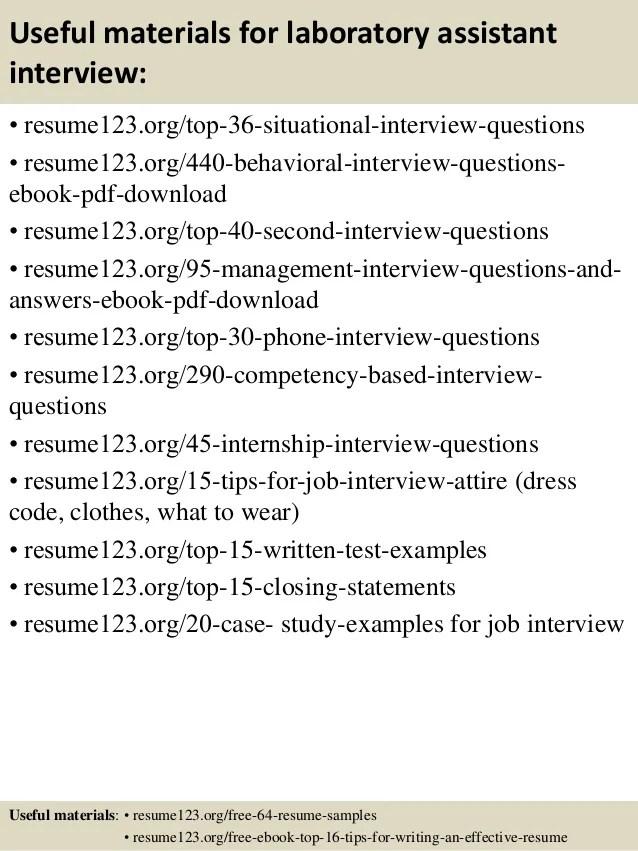 sample resume for lab technician - Yelommyphonecompany