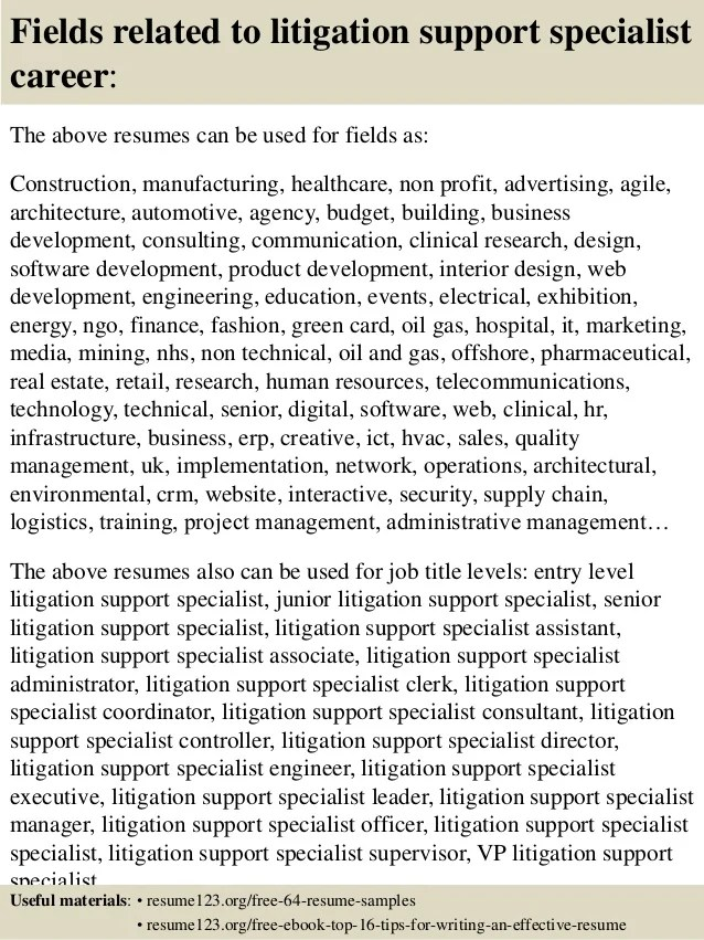 support specialist resumes - Muckgreenidesign - it support specialist resume