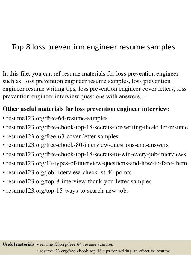 sample loss prevention cover letter - Gottayotti - loss prevention cover letter