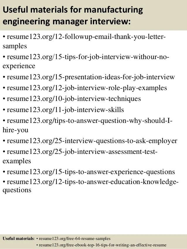 engineering manager resume - Apmayssconstruction