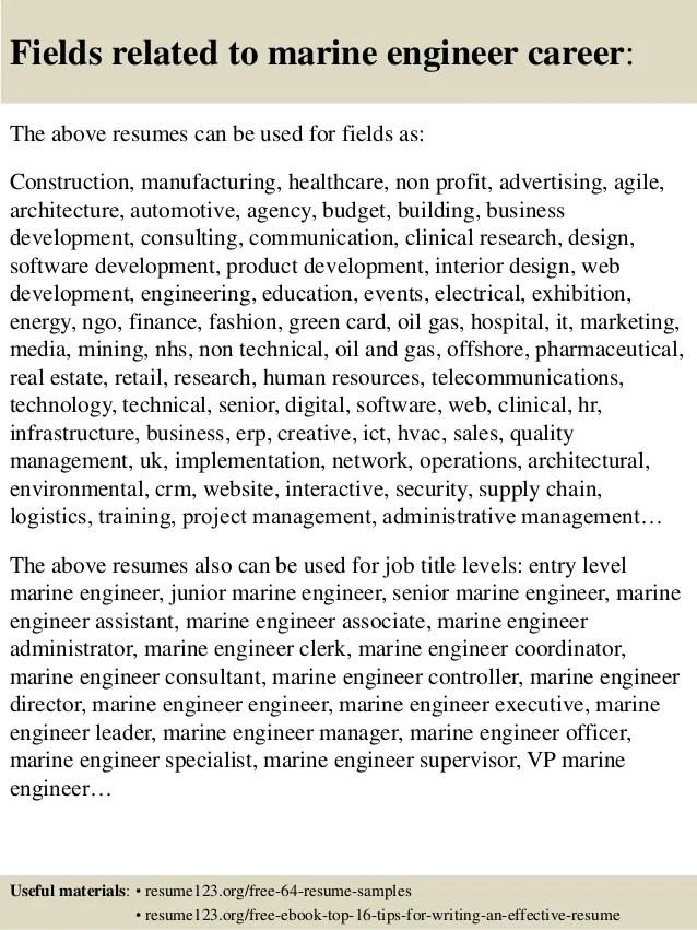 Resume World Professional Resume Service 1 Resume Top 8 Marine Engineer Resume Samples