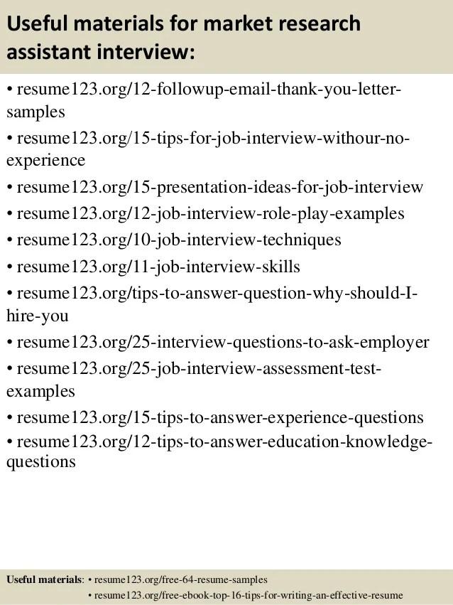 research assistant resume sample - Artij-plus