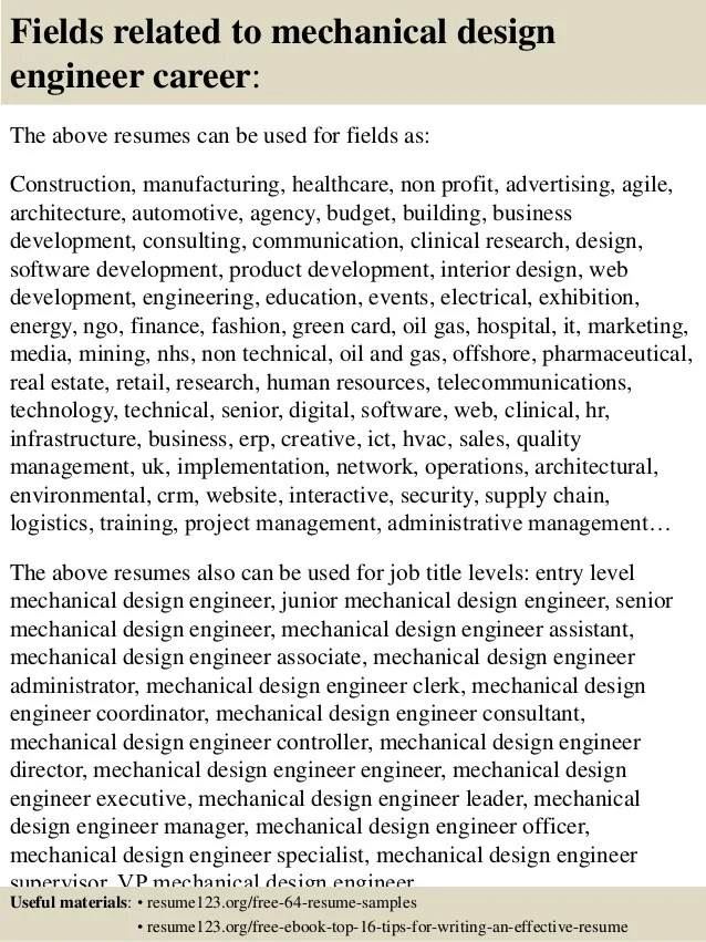 mechanical design engineer sample resumes - Funfpandroid - rfic design engineer sample resume