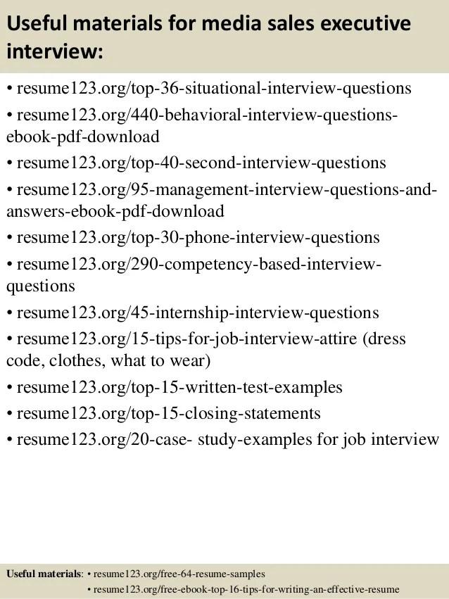 media sales resume examples - Ozilalmanoof