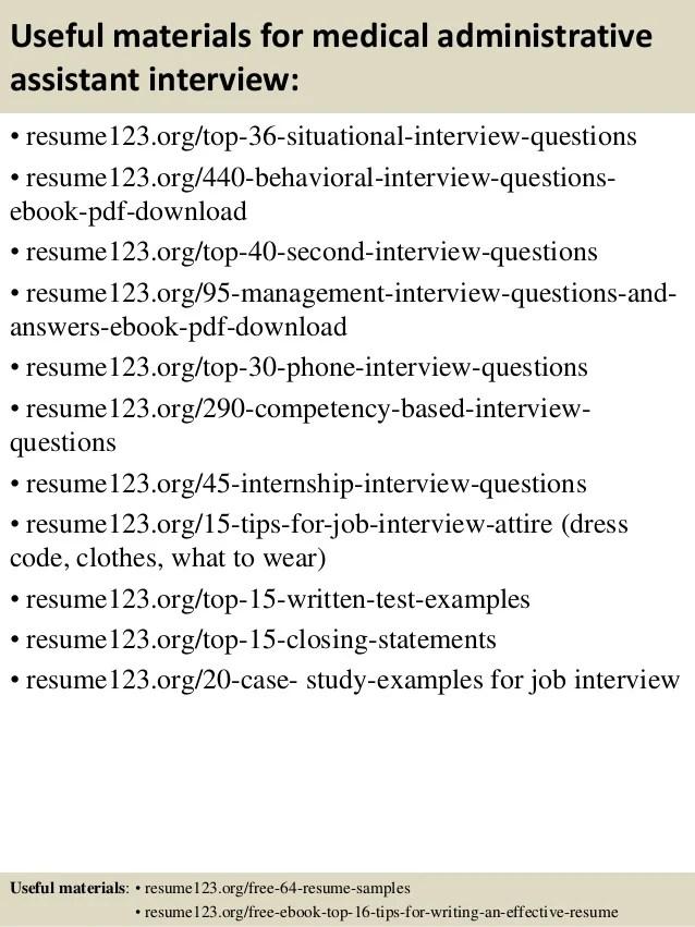 medical administrative assistant resume sample - Josemulinohouse