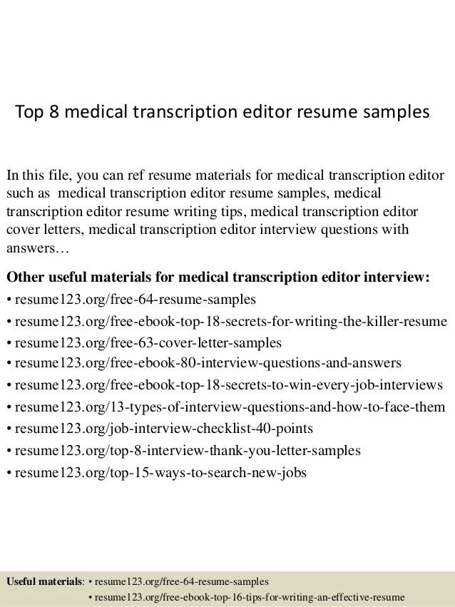 editor resume sample - Jolivibramusic