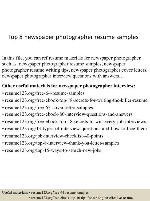 intern photographer resume free resume samples writing guides