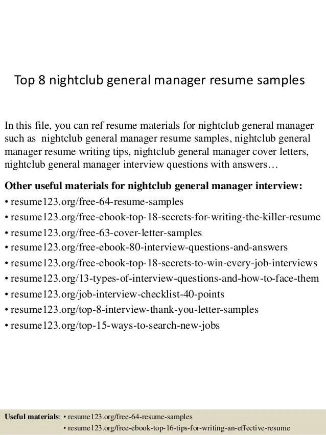 general sample resume - Bire1andwap