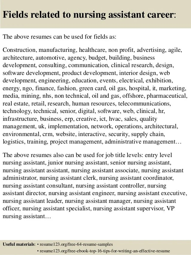 resume cna how to write a winning cna resume objectives skills
