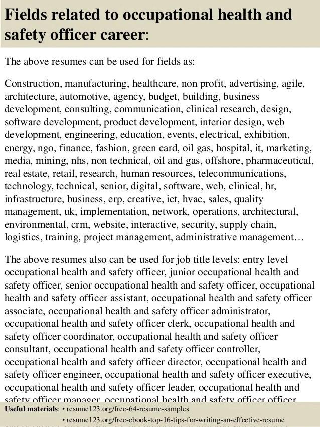 safety officer resume samples - Akbagreenw - safety officer resume sample