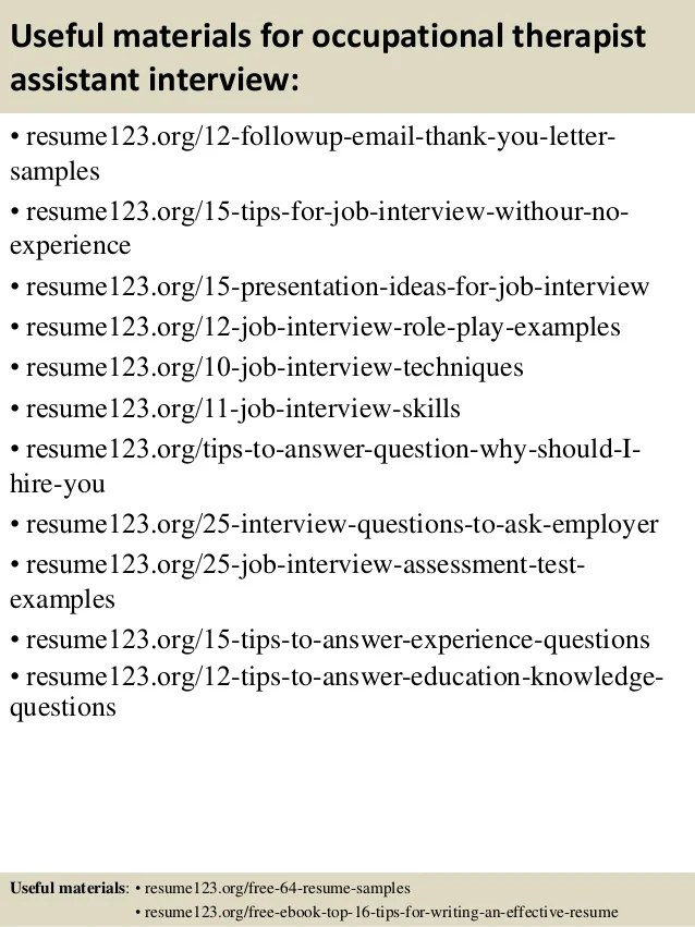 ot resumes - Alannoscrapleftbehind - occupational therapy resumes