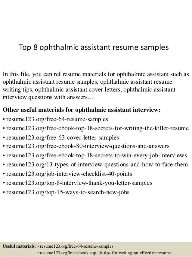 ophthalmic technician resume - Juvecenitdelacabrera - ophthalmic nurse sample resume