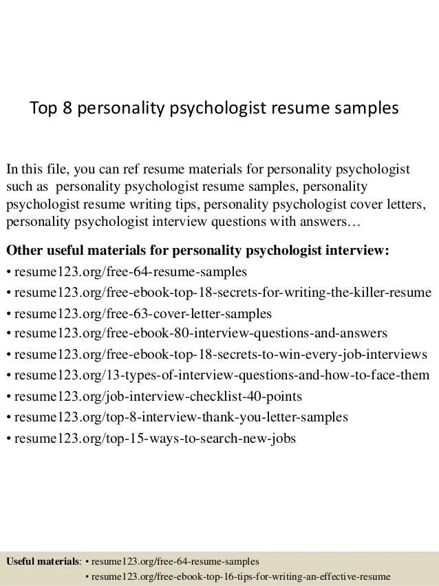 I O Psychologist Sample Resume sample resume no job experience - government psychologist sample resume