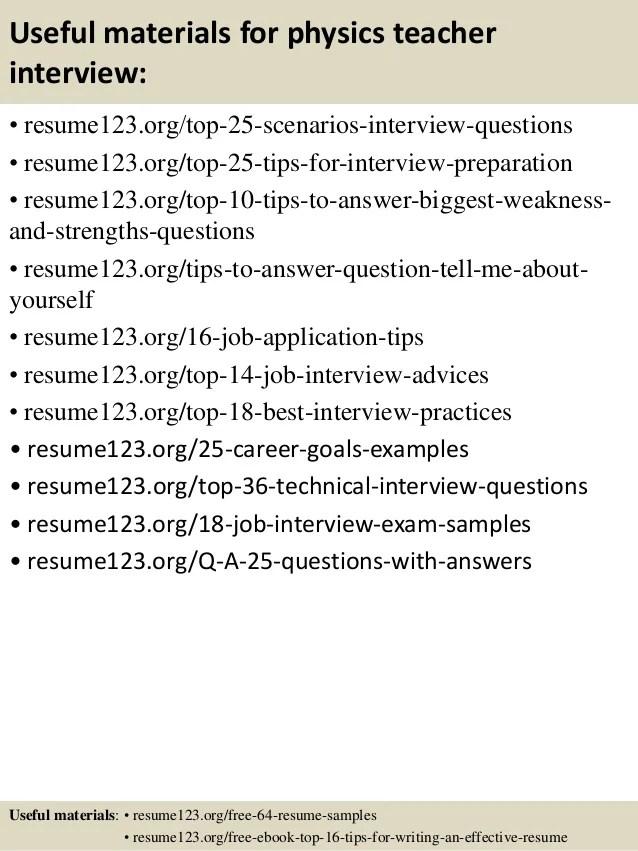 effective resumes samples - Onwebioinnovate