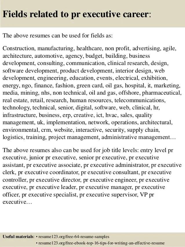 pr resume samples - Alannoscrapleftbehind - pr resume
