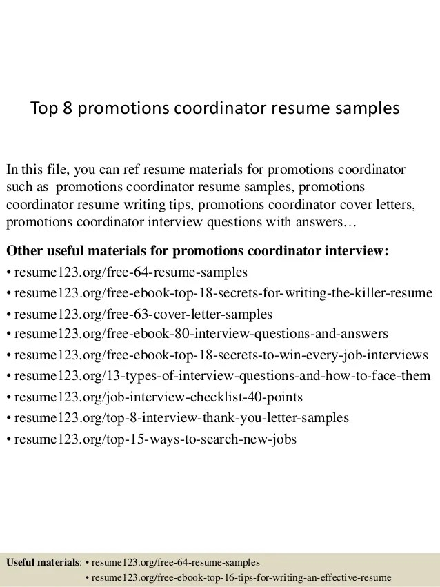 resumes for promotions - Eczasolinf