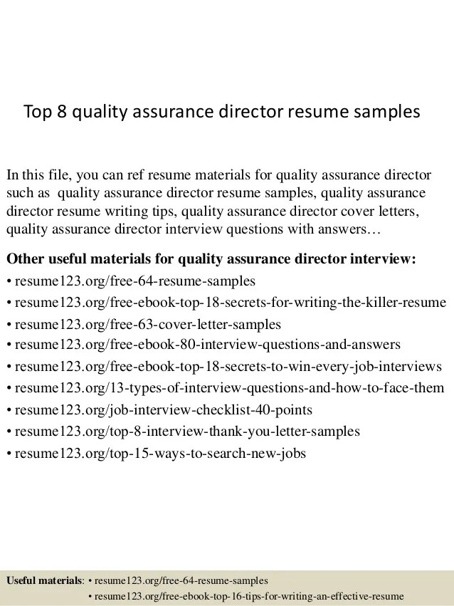 quality assurance resume template - Intoanysearch - quality assurance resume templates