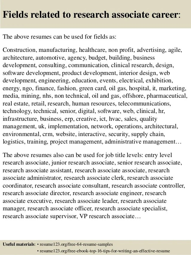 research assistant resume sample - Minimfagency - research assistant sample resume