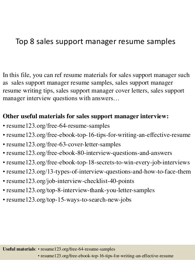 sales support resume - Eczasolinf - sales support representative sample resume