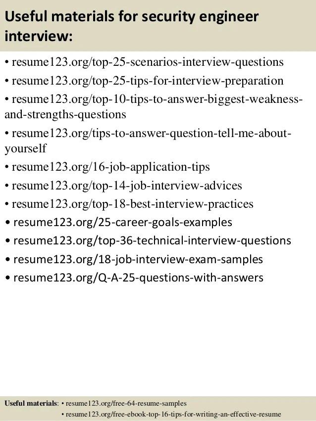 security engineer resume sample - Josemulinohouse - It Security Engineer Sample Resume