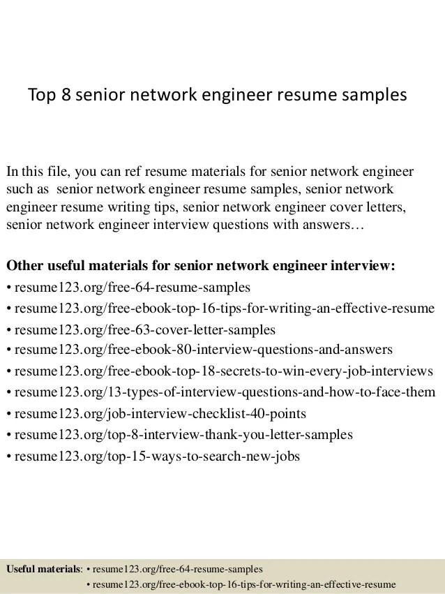 resume format for experienced network engineer - Resume Format Network Engineer