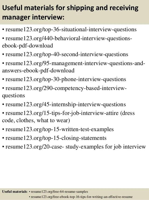 shipping and receiving resume skills - Josemulinohouse