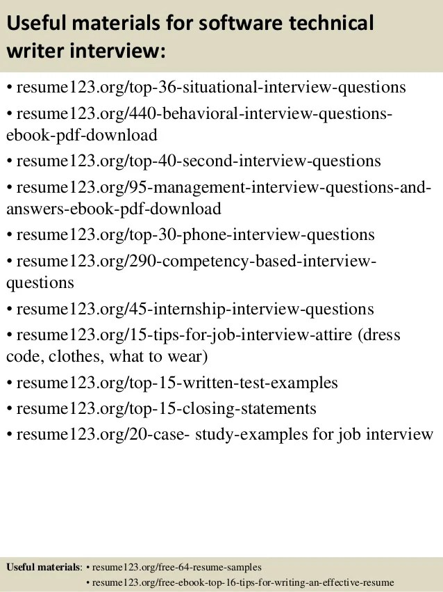 technical writer resume sample - Josemulinohouse